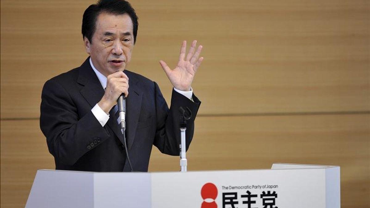 El primer ministro de Japón, Naoto Kan. EFE/Archivo