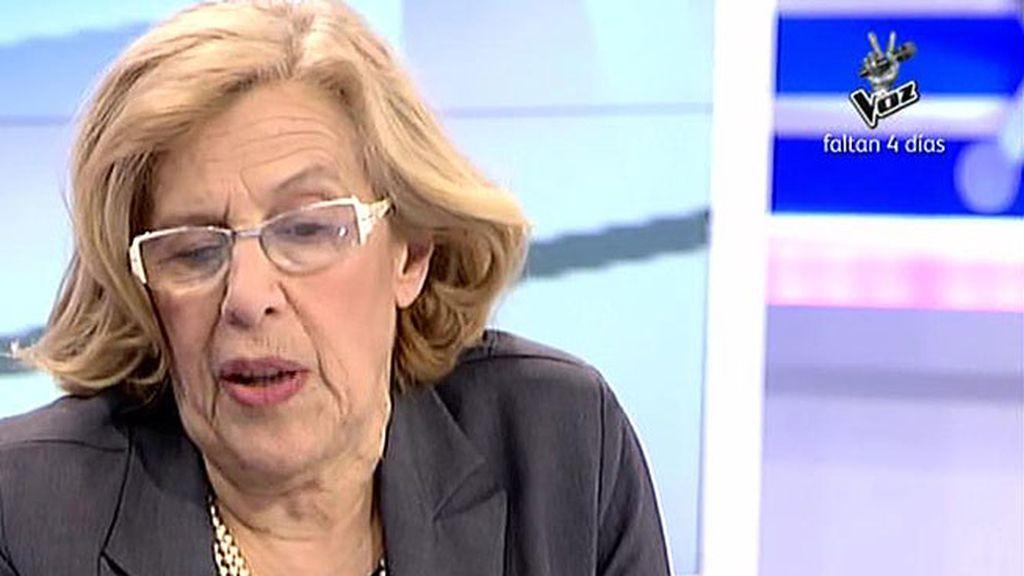 """Carmen Carmena: """"Más que los proyectos me interesan las historias pasadas"""""""