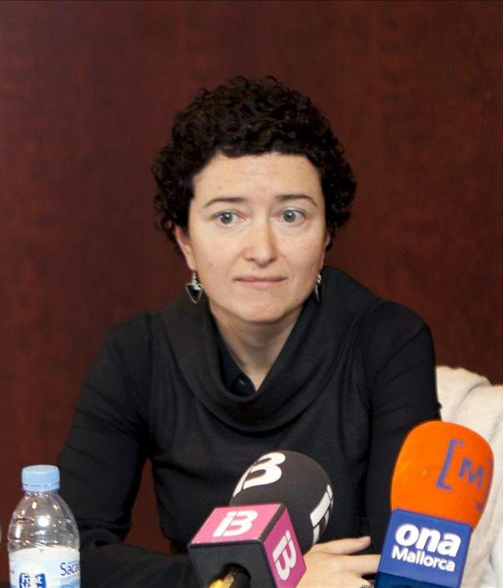 La portavoz de Jueces para la Democracia (JPD), María Calvo. EFE/Archivo