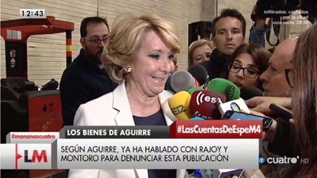 """Aguirre, tras la publicación de su declaración: """"Es un ataque a la seguridad jurídica"""""""