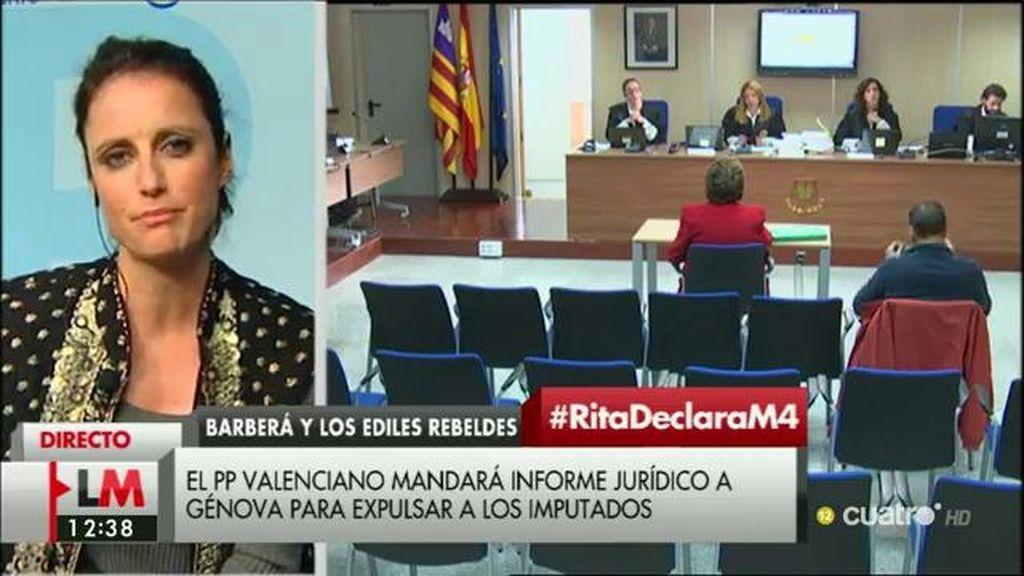 """Andrea Levy: """"Isabel Bonig es un gran activo para el Partido Popular"""""""