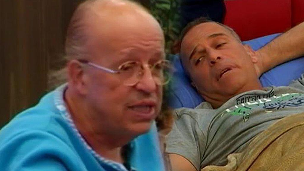 Carlos y Rappel, lucha de egos