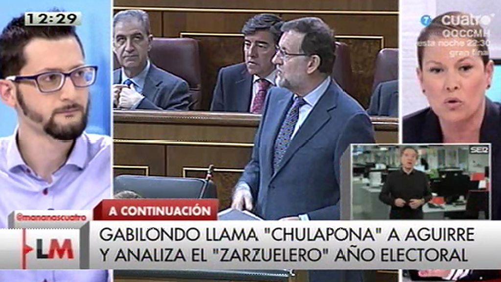 """Uxue Barkos: """"Es inadmisible el silencio al que Rajoy está sometiendo a la ciudadanía"""""""