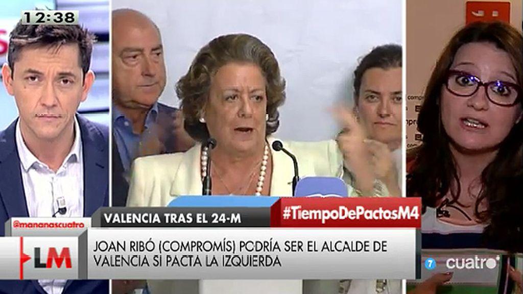 """Oltra: """"Ribó va a ser el alcalde de Valencia porque el entendimiento no solo es posible sino que hay gente que no tiene tiempo"""""""