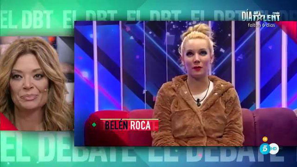 Lucía, emocionada y sorprendida por las reacciones de sus compañeros tras su salida