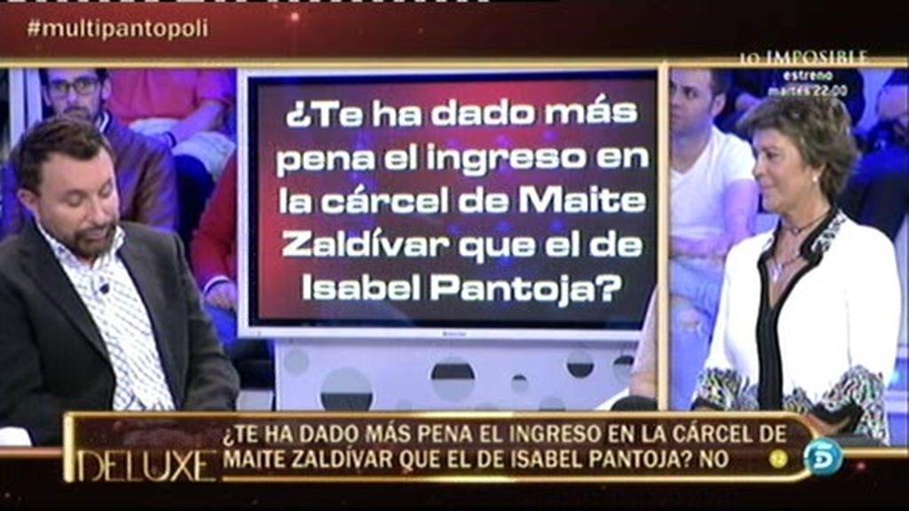 """Parada: """"Me da más pena que entre Maite Zaldívar, ha sido mejor persona conmigo"""""""