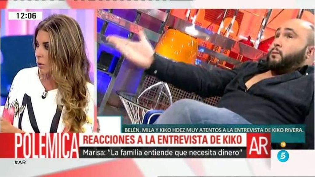 """""""Isabel Pantoja entendió que Kiko fuera al 'Deluxe', pero no le gustaron algunas cosas"""""""