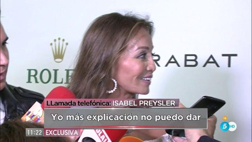 """Isabel Preysler: """"Mario y yo seguimos igual de felices que siempre"""""""