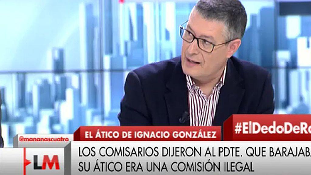 """J.M. Benito, de las grabaciones a González: """"Demuestran que no ha habido chantaje"""""""