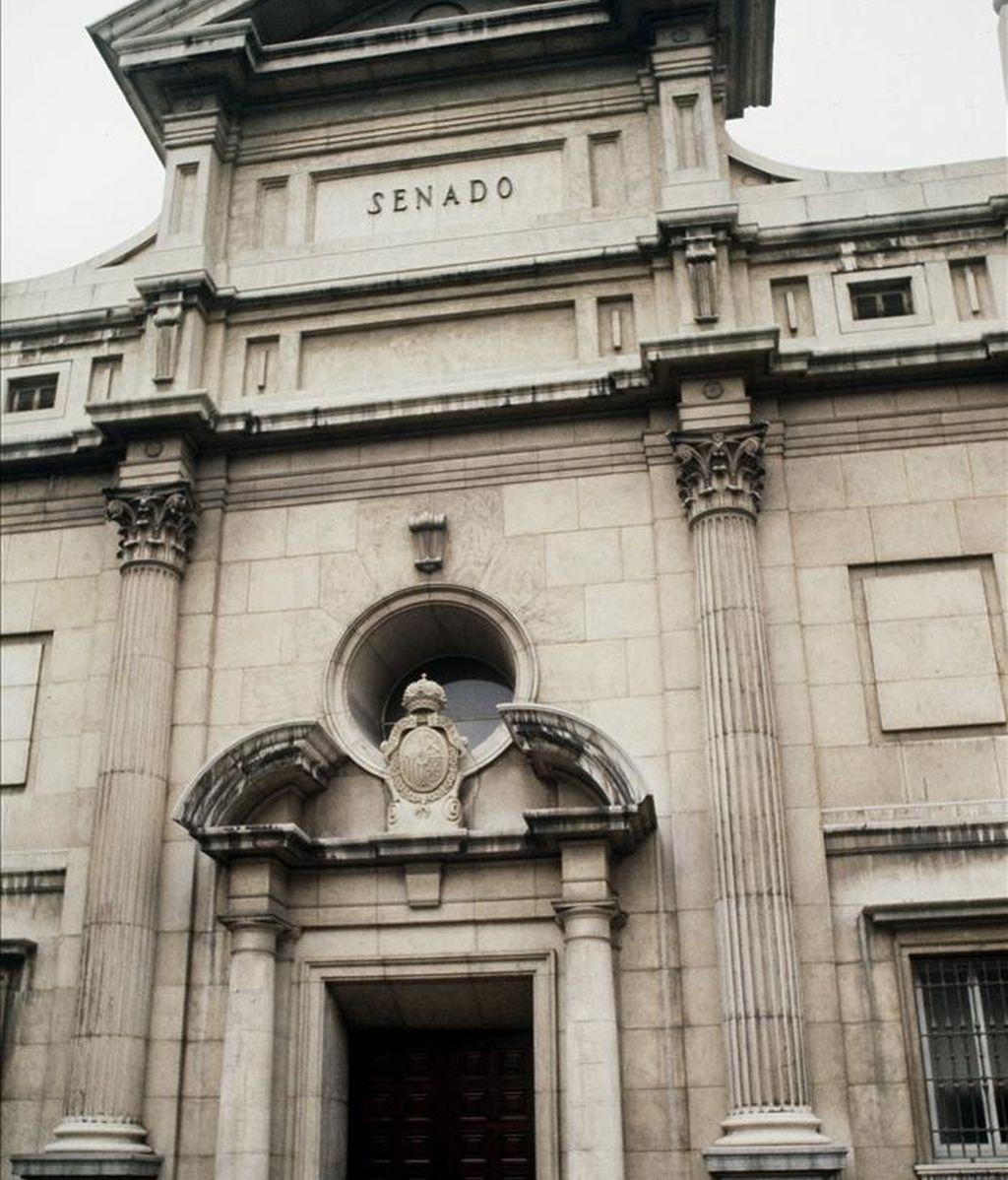 Fachada del Senado. EFE/Archivo