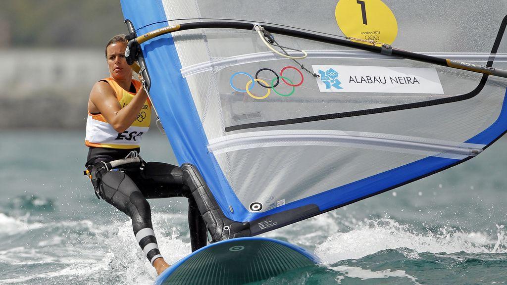 La windsurfista Marina Alabau