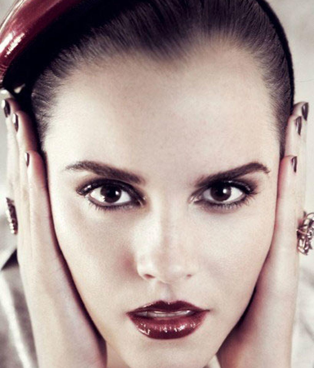 Glamour en su primera portada Vogue