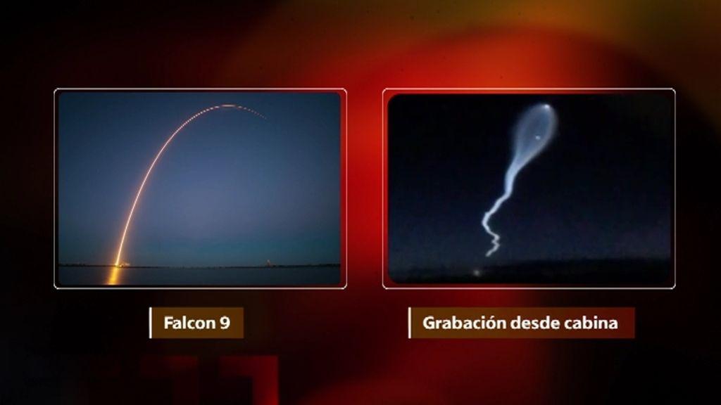 Una tripulación de Iberia encuentra un objeto volante no identificado durante un vuelo