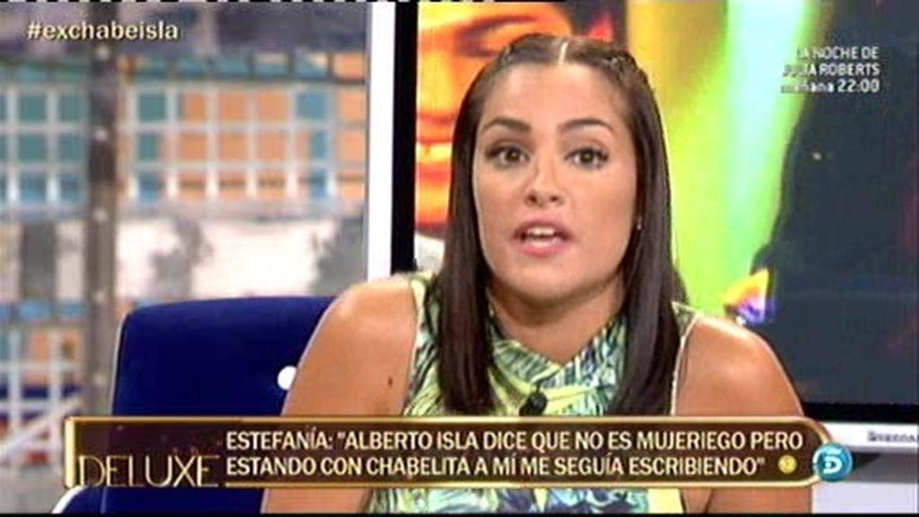 """Estefanía: """"Alberto Isla no es capaz de querer a su hijo ni a sus parejas"""""""