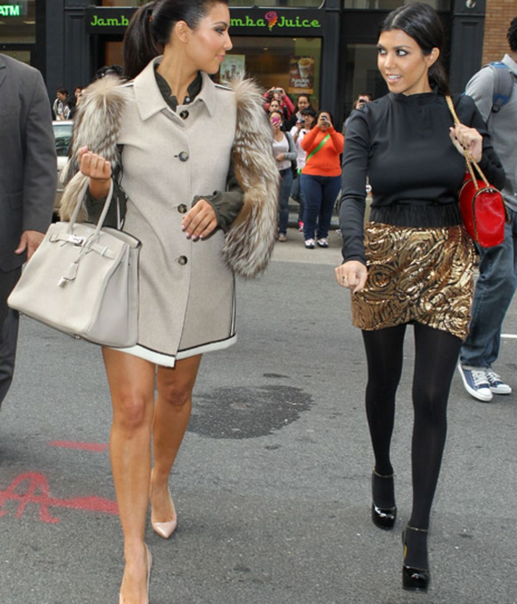 Kim Kardashian y su hermana pequeña