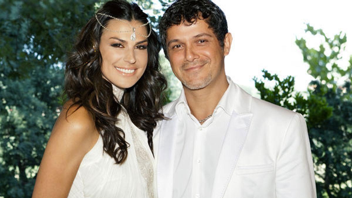 Alejandro y Raquel el día de su boda