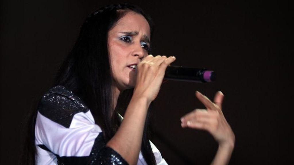 La cantante mexicana Julieta Venegas ofrece un concierto hoy en Montevideo (Uruguay). EFE