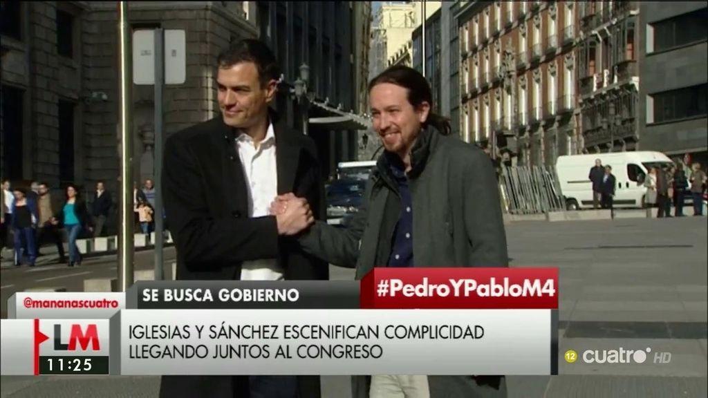 Sánchez e iglesias retoman las conversaciones 54 días después