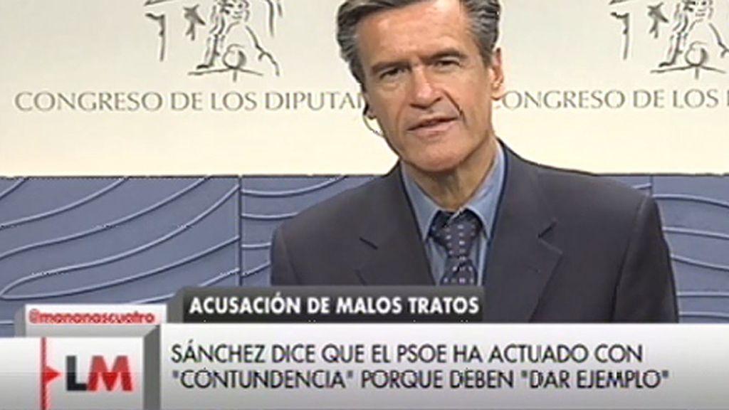 """López Aguilar: """"No hay ningún episodio de maltrato, soy inocente y lo voy a demostrar"""""""