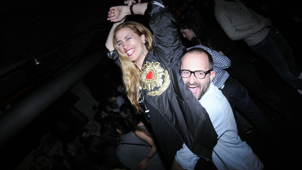 El director de cine Fernando González Molina y su amiga Safu