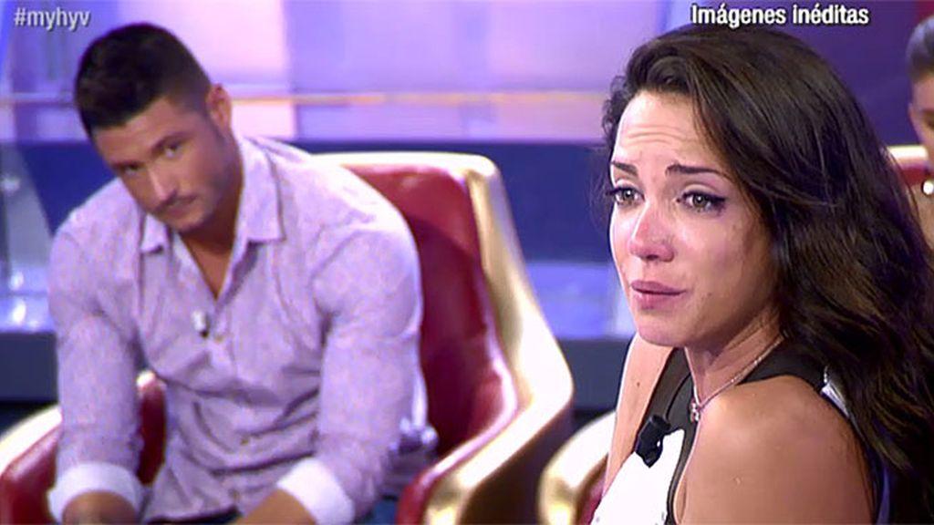 """Samira, a Ángel: """"Me han hecho daño y no quiero sufrir más"""""""