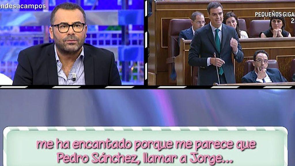 La audiencia agradece la llamada de Pedro Sánchez a Jorge Javier Vázquez