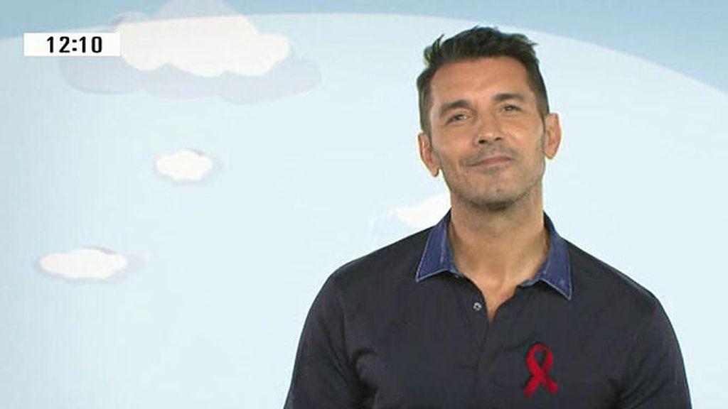 Jesús Vázquez, comprometido con la lucha contra el SIDA
