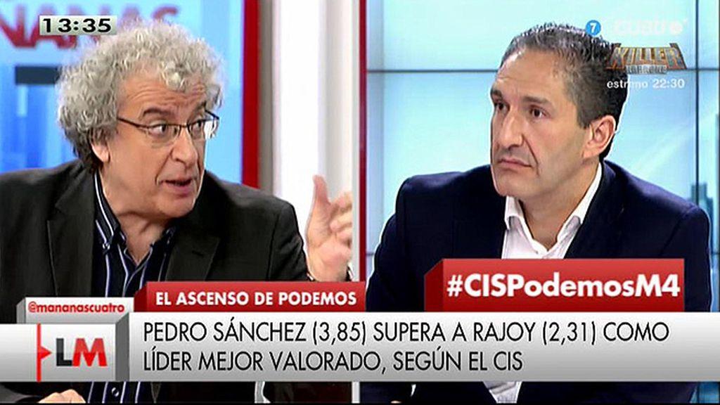 """Cepeda, sobre la encuesta del CIS: """"Lo que me gusta es que el PSOE empieza a crecer"""""""