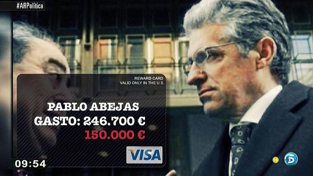 Pablo Abejas asegura que la cantidad que gastó con las tarjetas black es poco significativa para afectar a la economía nacional