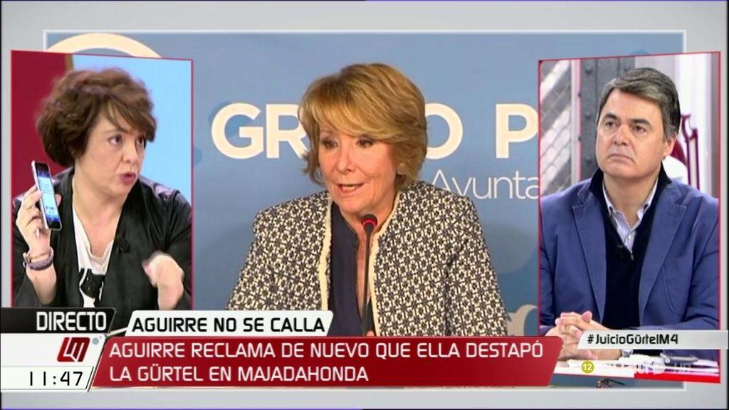 """Gloria Elizo (Podemos): """"Es un drama que el PP que está declarado partícipe a título lucrativo de la Gürtel, vaya a gobernar"""""""