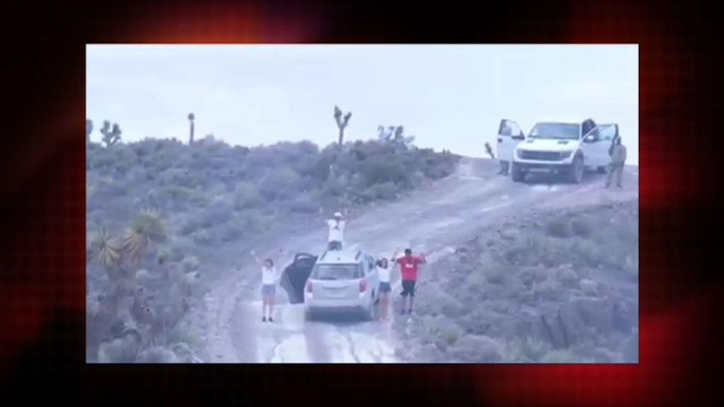 Misterio 4.0: El video de una familia cerca del área 51 en Nevada no es un viral falso