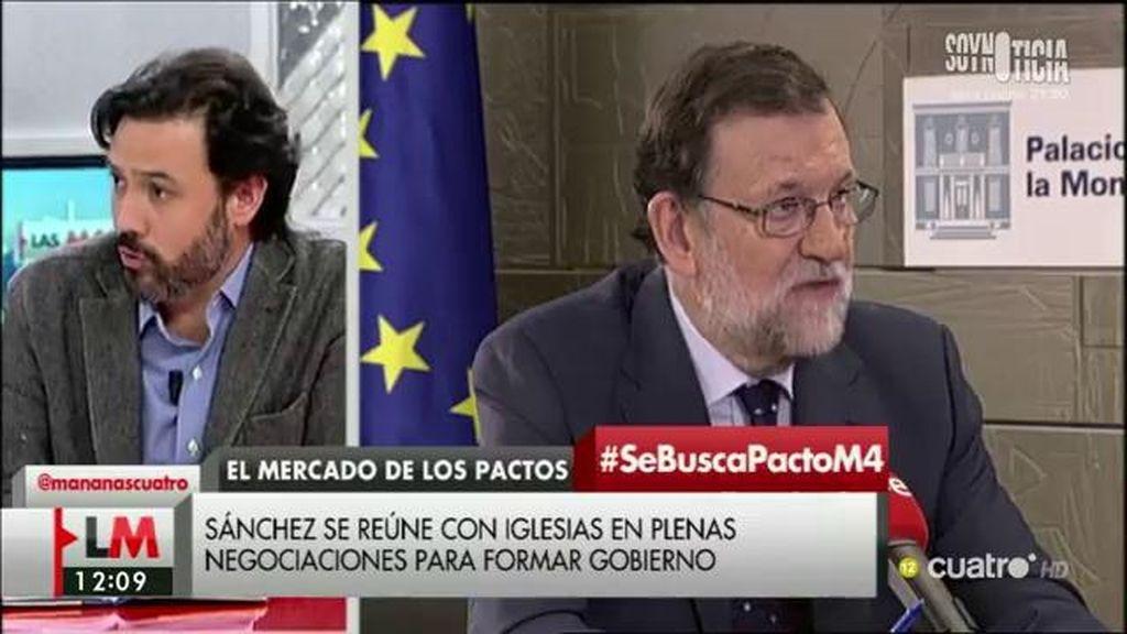 """Guillermo Mariscal (PP): """"Pedro Sánchez tiene que dejar de huir a ninguna parte"""""""