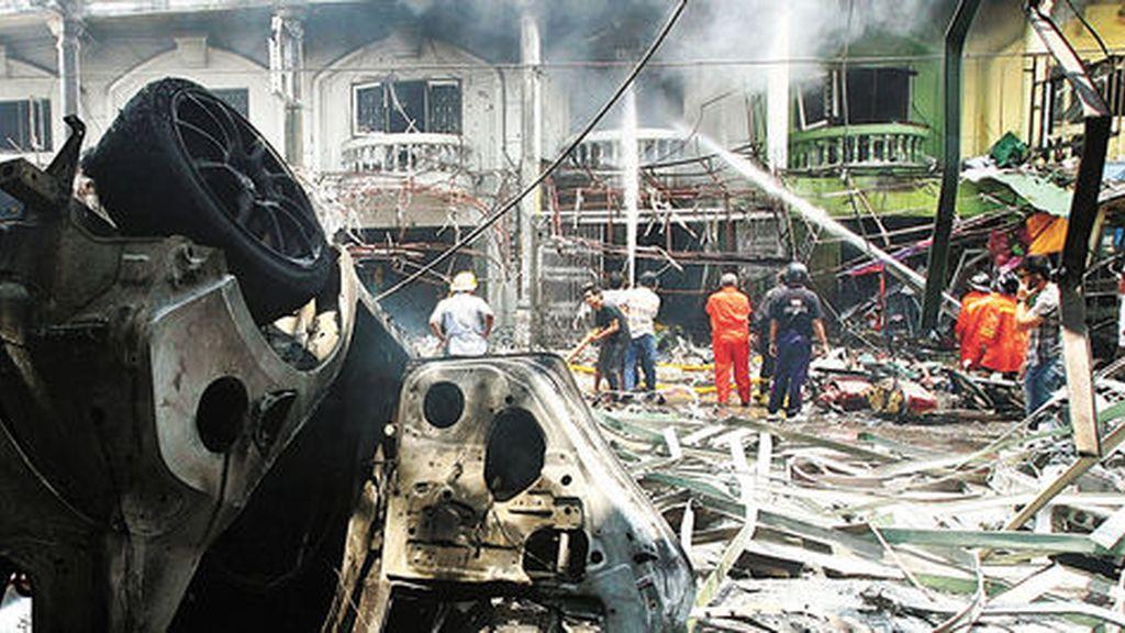 Explosiones en Yala (EFE)