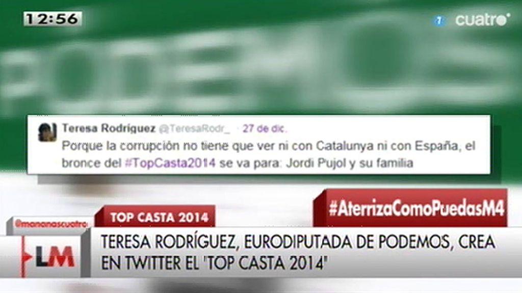 El particular #topcasta2014 de T. Rodríguez