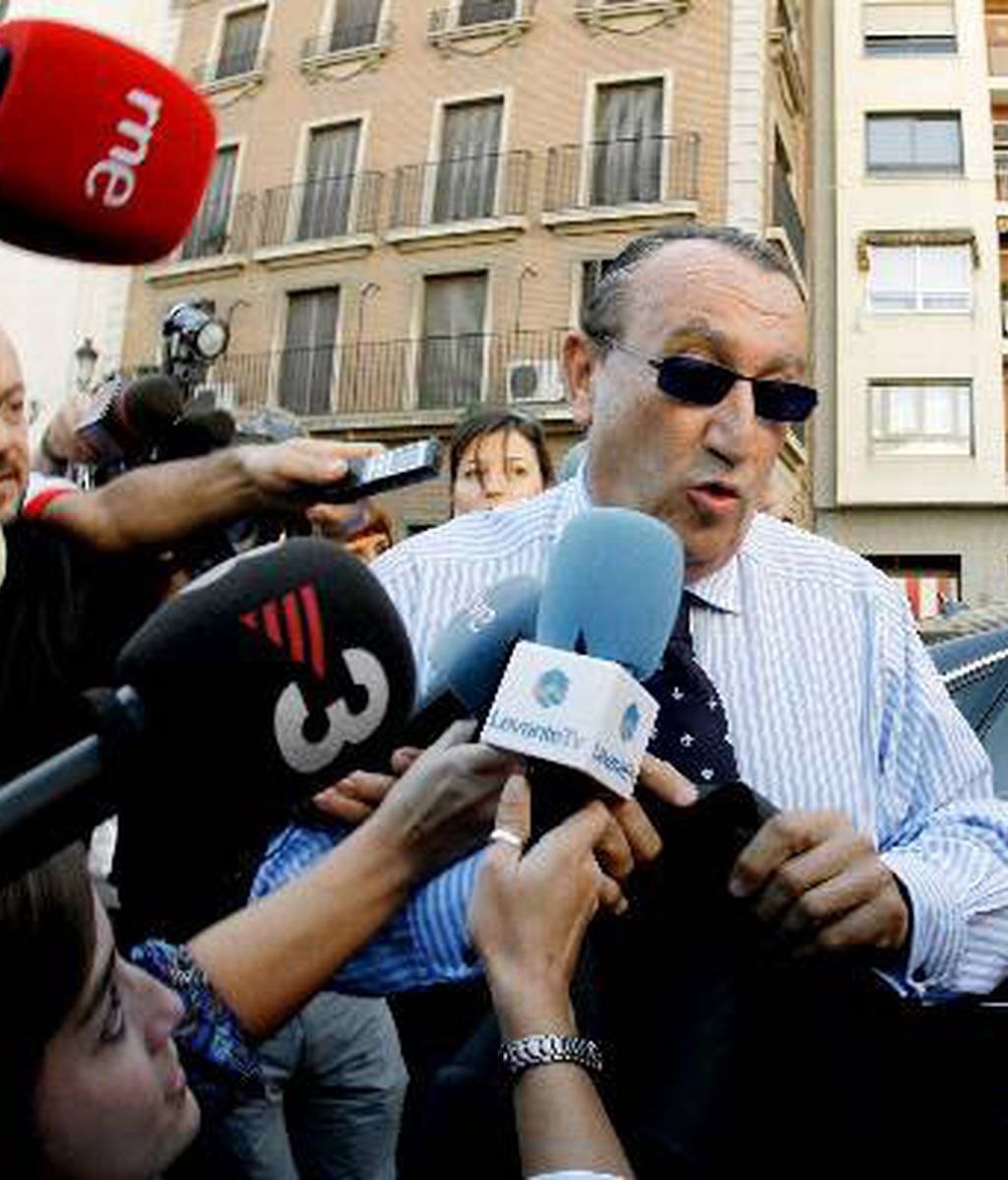 El ex presidente de la Diputación Provincial y actual presidente del PP en dicha provincia, Carlos Fabra