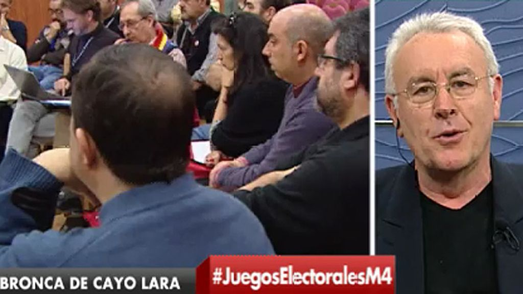 """Cayo Lara, sobre su enfado: """"Se ha pretendido extrapolar al conjunto de la organización un debate circunscrito a Madrid"""""""