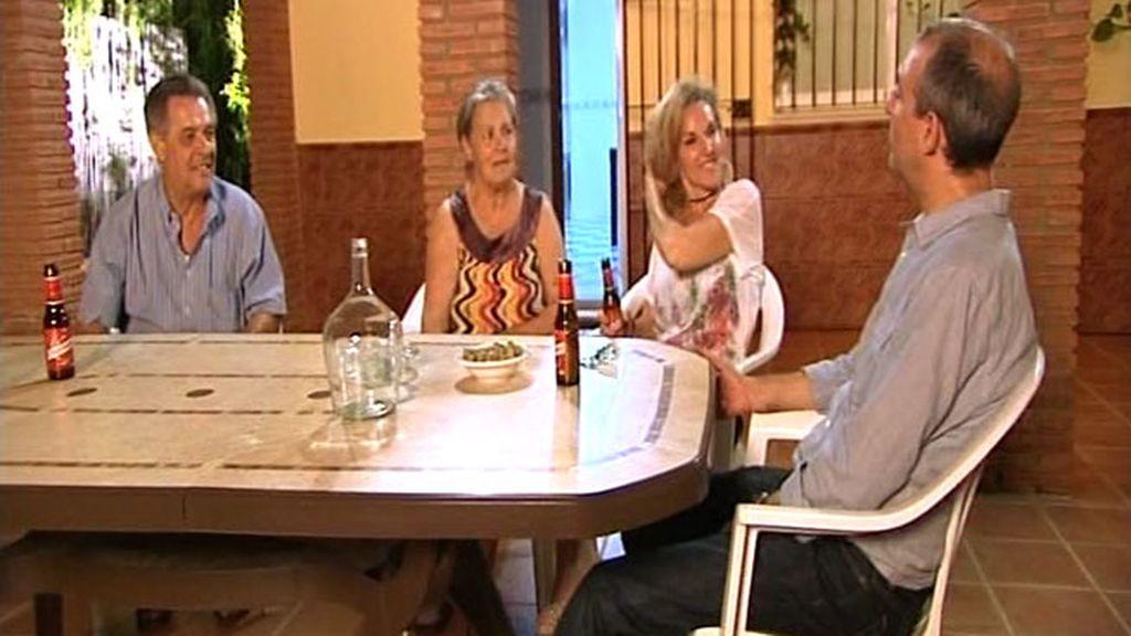 Los Navarro, una familia feliz y una abuela muy cocinera