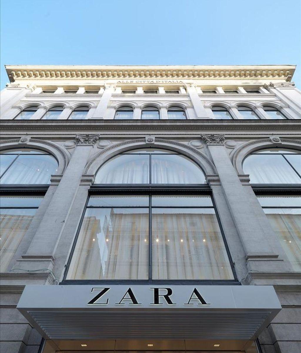 Fotografía facilitada por Inditex que muestra una tienda de Zara. EFE/Archivo