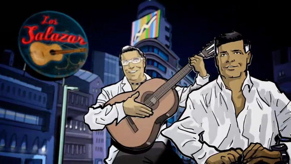 Los Salazar, los 'Rolling de Vallecas' hermanos de las Azúcar Moreno