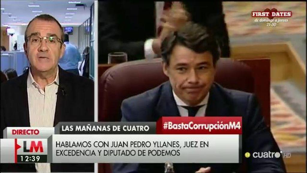 """Juan Pedro Yllanes, sobre el ático de I. González: """"En este caso hay demasiadas cosas que suenan un poco raro"""""""