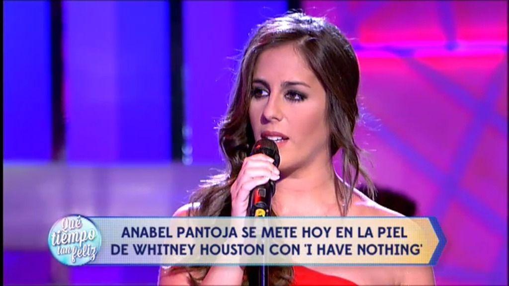 Anabel Pantoja cumple su seño de interpretar a Whitney Houston en ¡QTTF!
