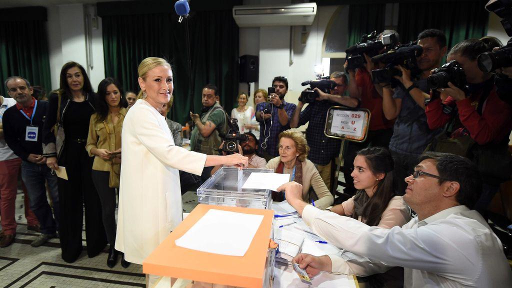 """Cifuentes desea una jornada electoral """"sin incidentes"""""""