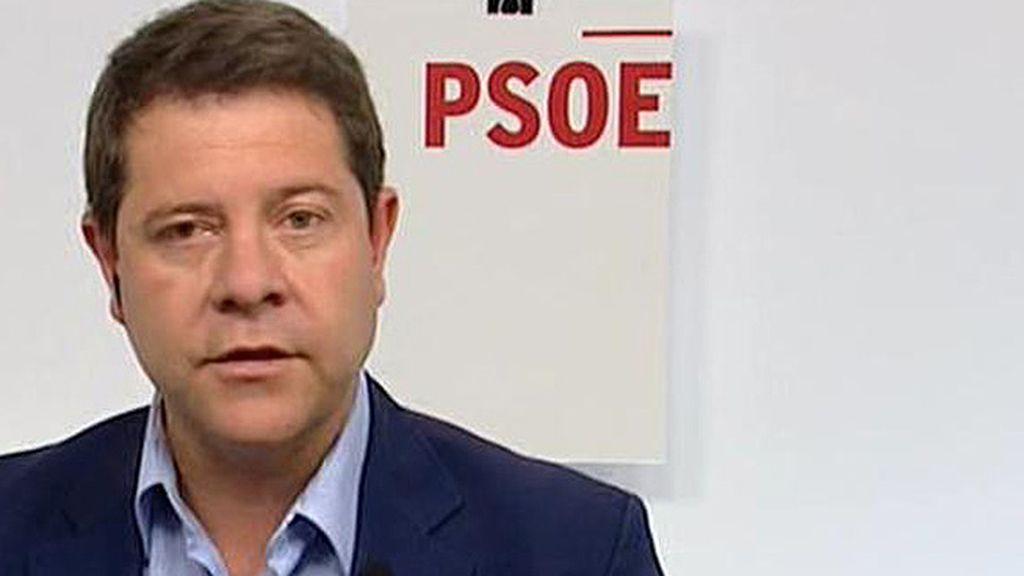 """García – Page: """"No creo que esté en cuestión el liderazgo de Pedro Sánchez"""""""