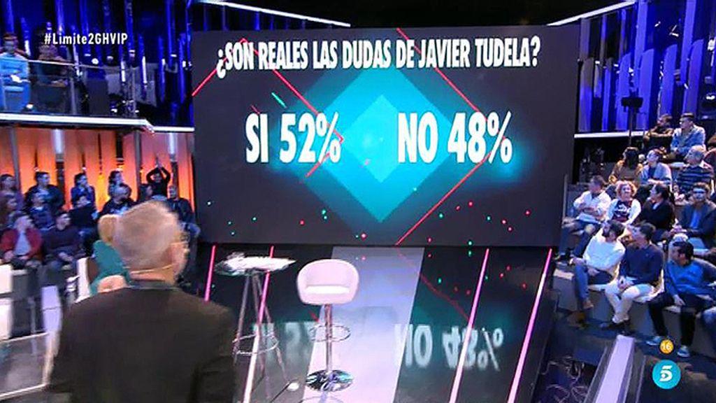La audiencia cree las dudas de Javier Tudela