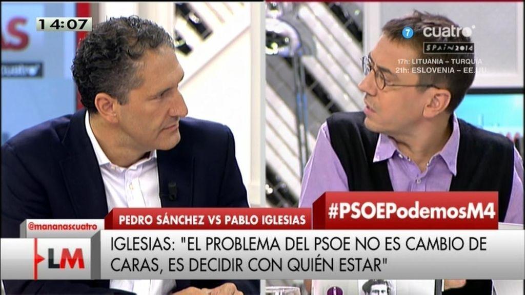 ¿Qué propone Podemos y el PSOE para despertar la esperanza en la gente?