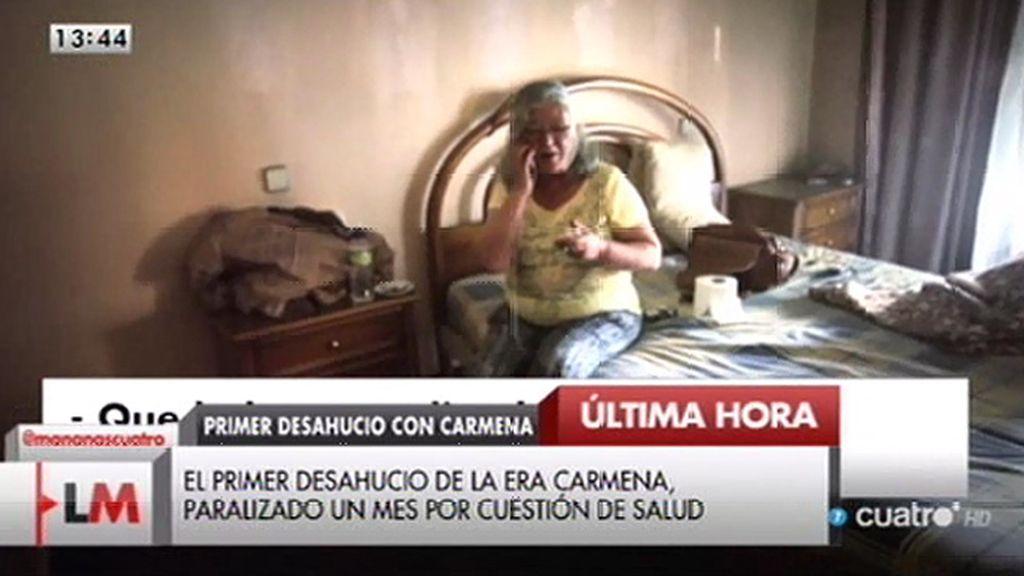 El desahucio de Asunción, frenado por cuestiones de salud
