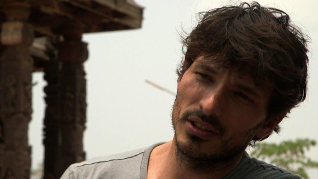 """Andrés Velencoso: """"En mi primer trabajo como modelo me pagaron 20.000 pesetas"""""""