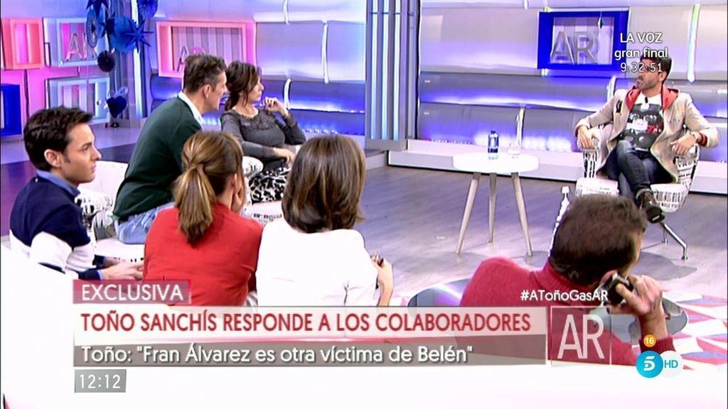 """Toño: """"Belén amenazó con marcharse de la cadena si Fran iba a 'Supervivientes"""""""