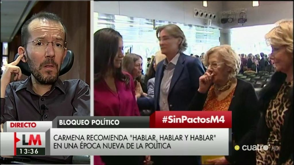 """Echenique: """"El problema es que, en el acuerdo entre Ciudadanos y el PSOE, el que más ha cedido ha sido el PSOE"""""""