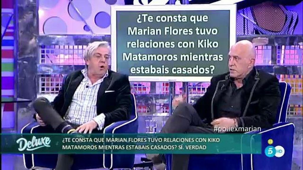 Kiko Matamoros tuvo relaciones con Marián mientras ella estaba casada con José Javier